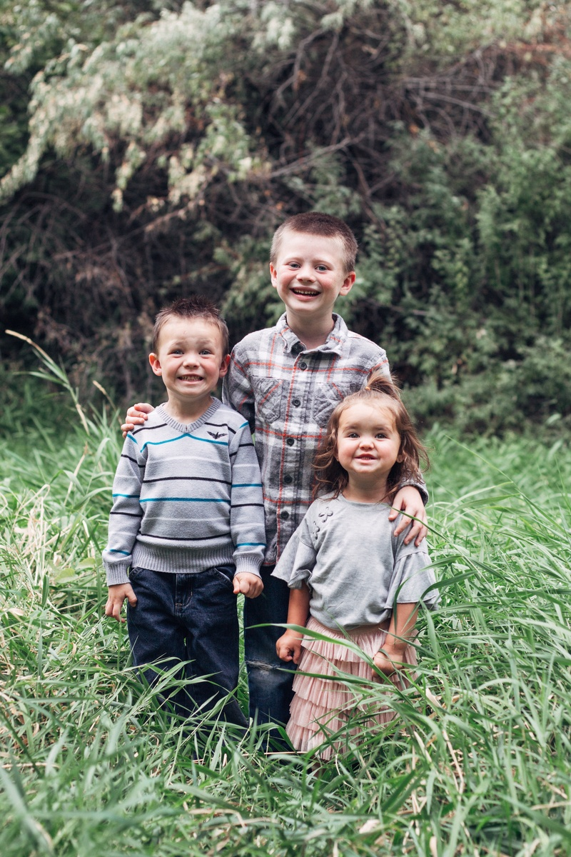 dr. dan mirci's three children